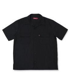 画像1: HIDEANDSEEK / Cotton Linen S/S Shirt (1)