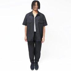 画像3: HIDEANDSEEK / Cotton Linen S/S Shirt (3)