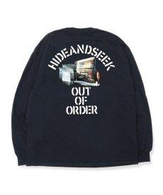画像1: HIDEANDSEEK / Out Of Order L/S Tee (1)