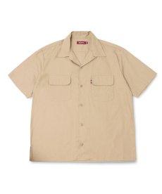 画像2: HIDEANDSEEK / Cotton Linen S/S Shirt (2)
