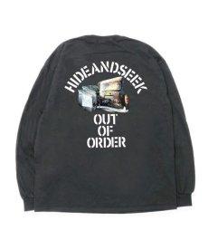 画像3: HIDEANDSEEK / Out Of Order L/S Tee (3)