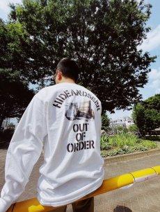 画像6: HIDEANDSEEK / Out Of Order L/S Tee (6)