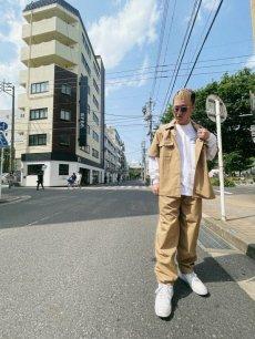 画像4: HIDEANDSEEK / Cotton Linen S/S Shirt (4)