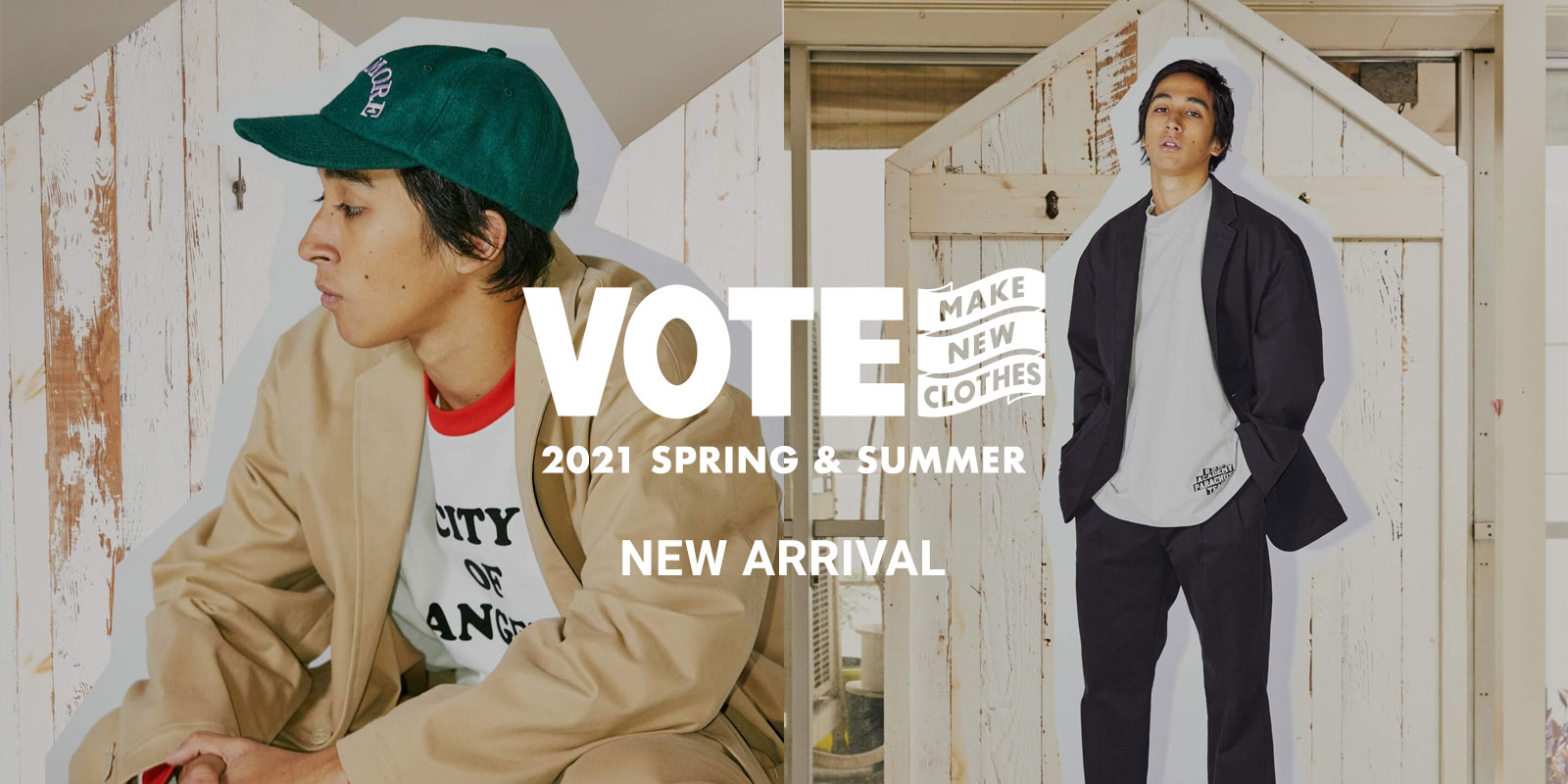 VOTE MAKE NEW CLOTHES