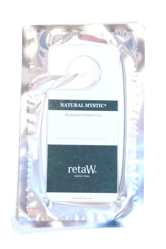 画像1: 【retaW】 Fragrance Room Tag NATURAL MYSTIC (1)