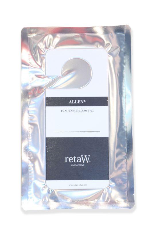 画像1: 【retaW】 Fragrance Room Tag ALLEN (1)