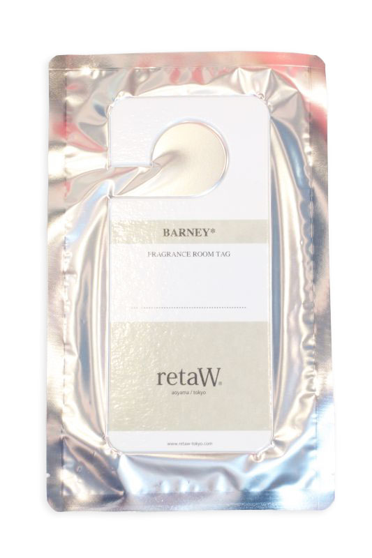 画像1: 【retaW】 Fragrance Room Tag BARNEY (1)