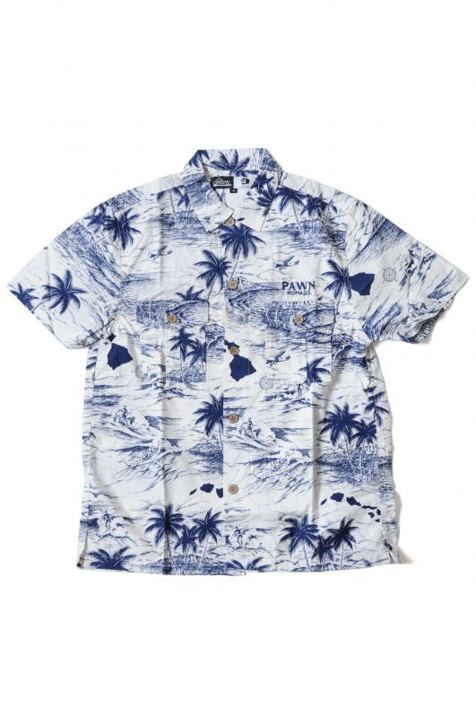 画像2: 【PAWN】 PALM TREE PAWN SHIRT