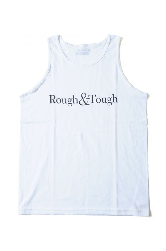 画像1: 【Rough&Tough】BASIC LOGO TANKTOP