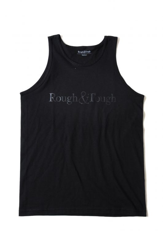 画像2: 【Rough&Tough】BASIC LOGO TANKTOP
