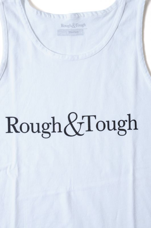 画像3: 【Rough&Tough】BASIC LOGO TANKTOP