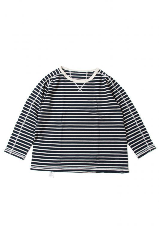 画像1: 【CALMAN HENRY CLOTHING】 LONG SLEEVE CREW NECK TEE (1)