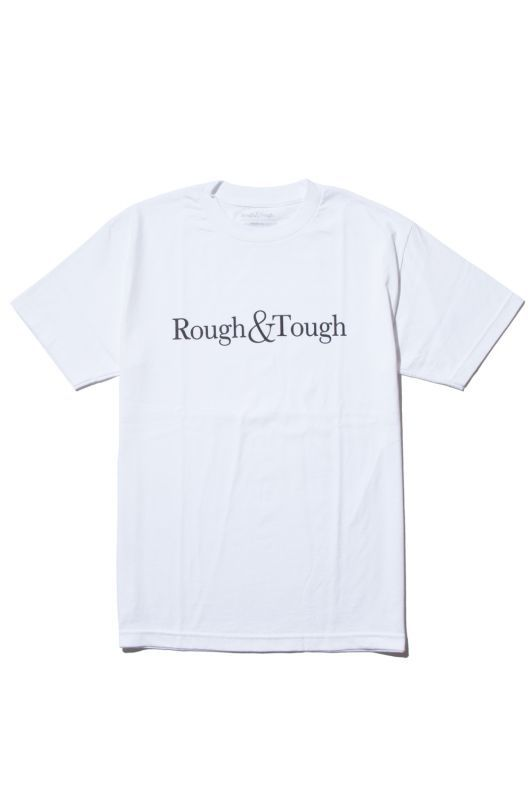 画像1: 【Rough&Tough】BASIC LOGO TEE (1)