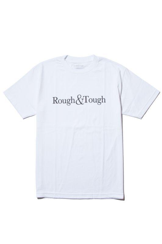 画像1: 【Rough&Tough】BASIC LOGO TEE