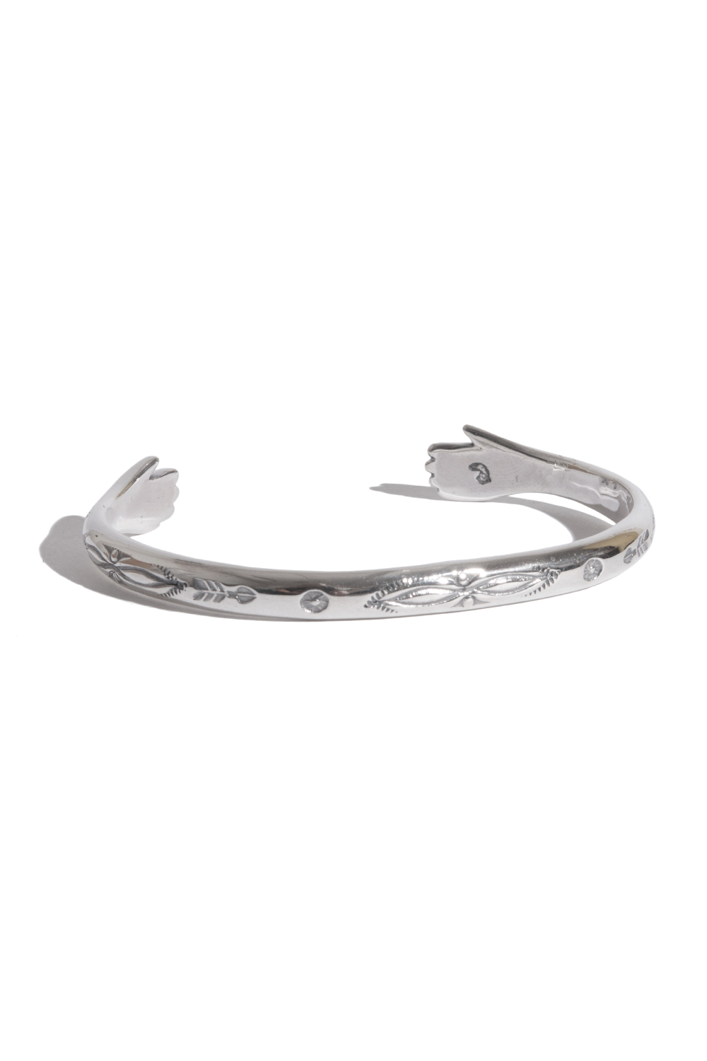 画像1: 【LARRY SMITH】 LOVE HANDS BANGLE (1)