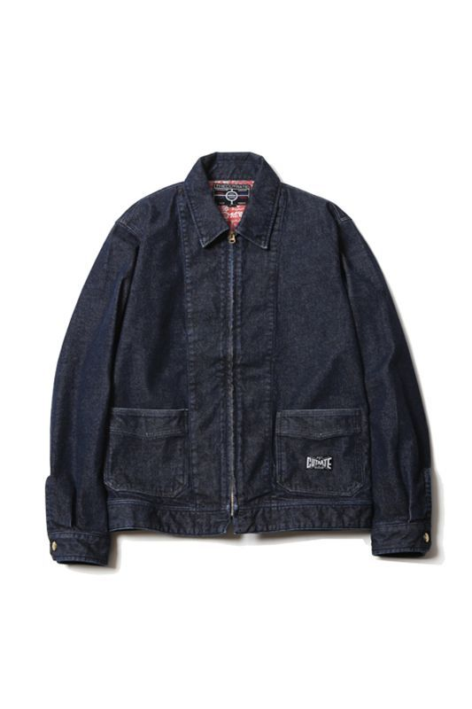 画像1: 【CUTRATE】 DENIM WORK JACKET (1)