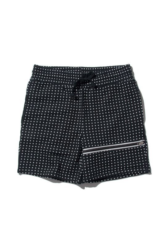 画像1: 【am】POLKA DOT SWEAT SHORTS (1)