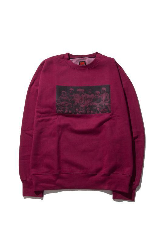 画像1: 【am】Thugy Crewneck Sweatshirts