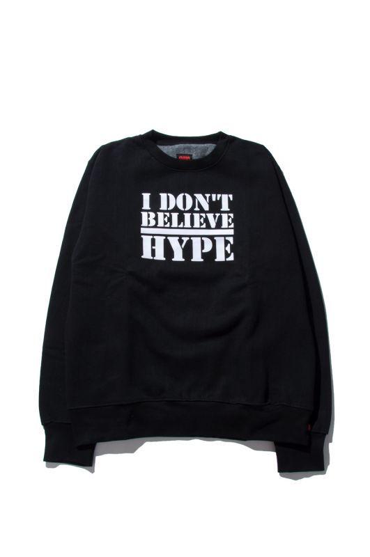 画像1: 【am】I Don't Believe Hype Crewneck Sweatshirts