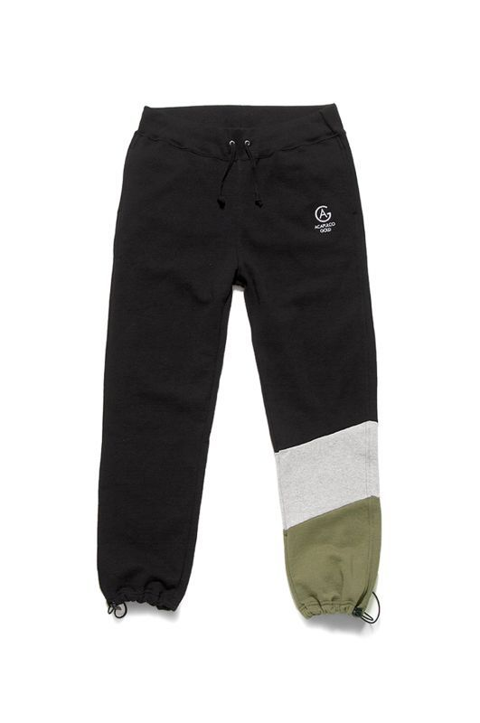 画像1: 【ACAPULCO GOLD】PANELED SWEATPANTS