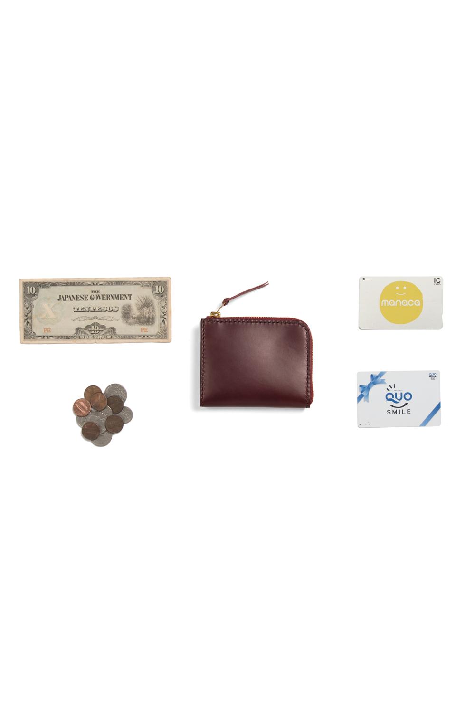 """画像4: 【OLD WEST】 """"L"""" zip wallet(Plain)"""