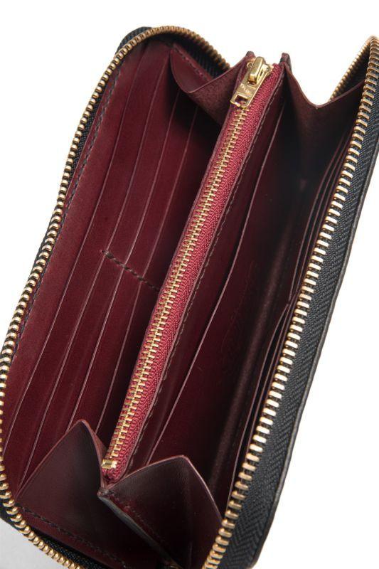 画像3: 【OLD WEST】 Round Zip wallet(Plain)