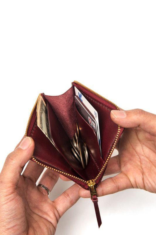 """画像3: 【OLD WEST】 """"L"""" zip wallet(Plain)"""