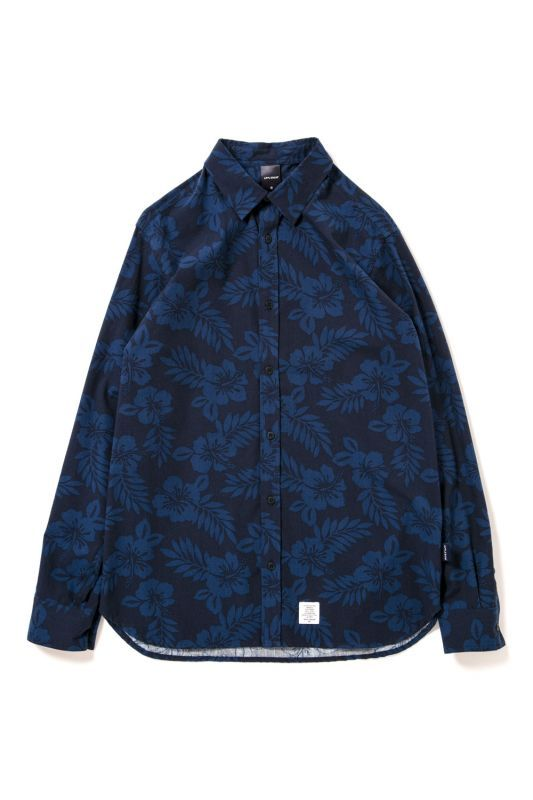 画像1: 【APPLEBUM】Flower Broad LS Shirt