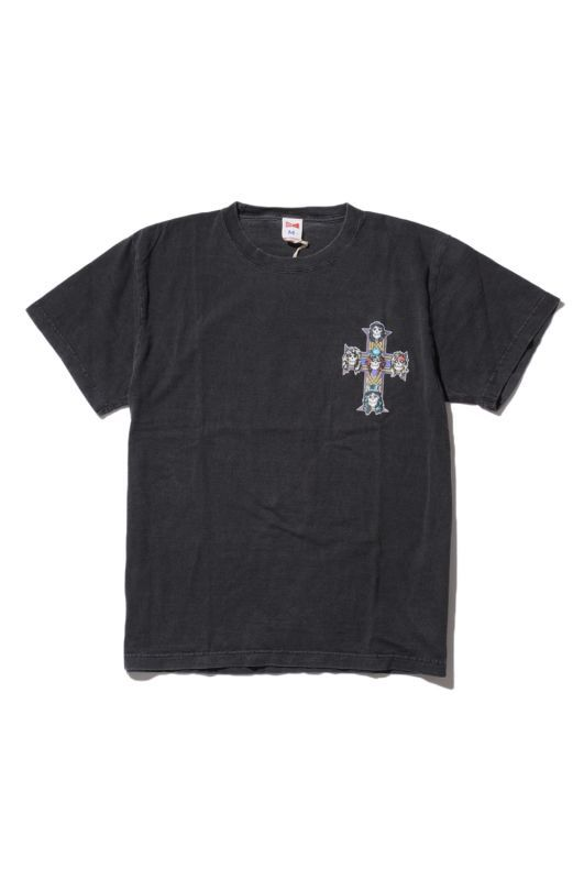 画像1: 【VOTE MAKE NEW CLOTHES】 G&R CROSS TEE