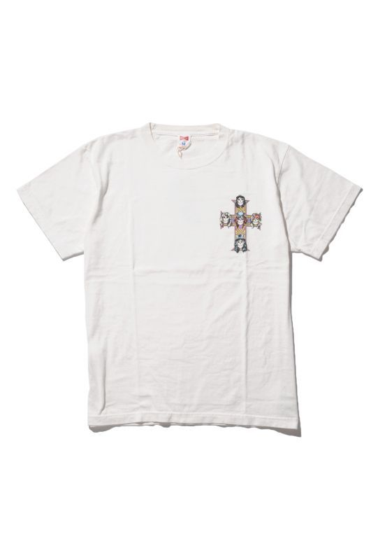 画像2: 【VOTE MAKE NEW CLOTHES】 G&R CROSS TEE