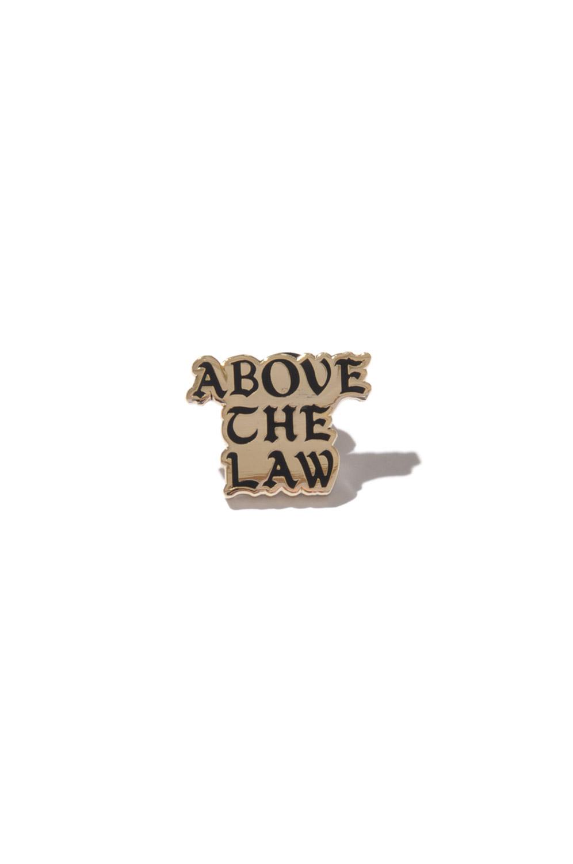 画像1: 【ACAPULCO GOLD】ABOVE THE LAW LAPEL PIN (1)