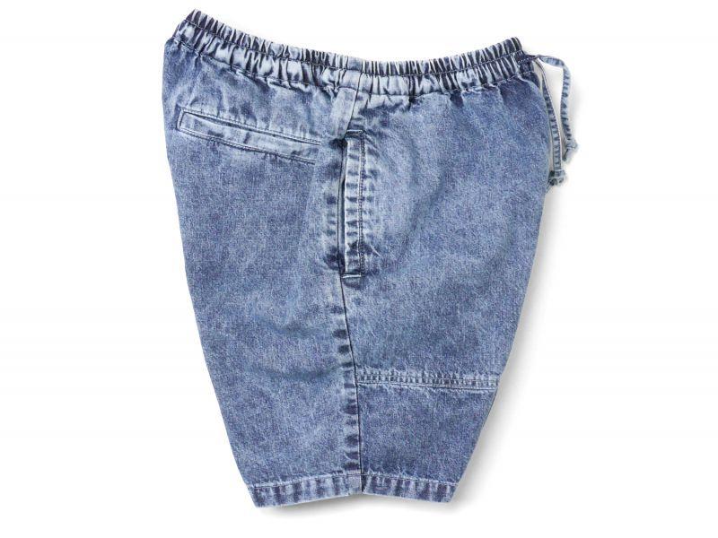 画像3: 【INTERBREED】Chemical Washed Court Shorts