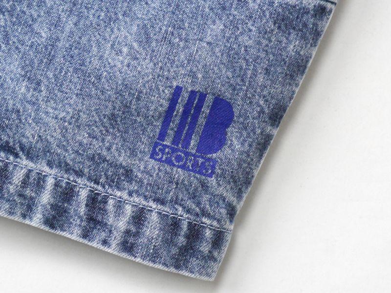 画像4: 【INTERBREED】Chemical Washed Court Shorts