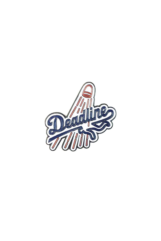 画像1: 【DEADLINE】Deadline Logo Enamel Pin