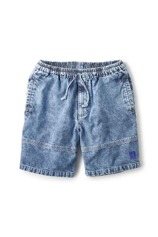 画像1: 【INTERBREED】Chemical Washed Court Shorts