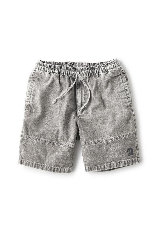 画像2: 【INTERBREED】Chemical Washed Court Shorts