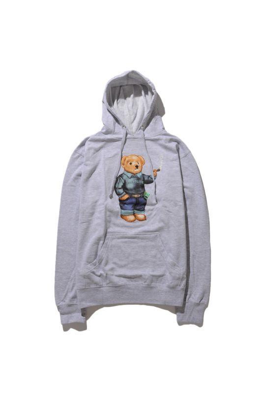 画像2: 【DEADLINE】420 Blunt Bear Hoodie
