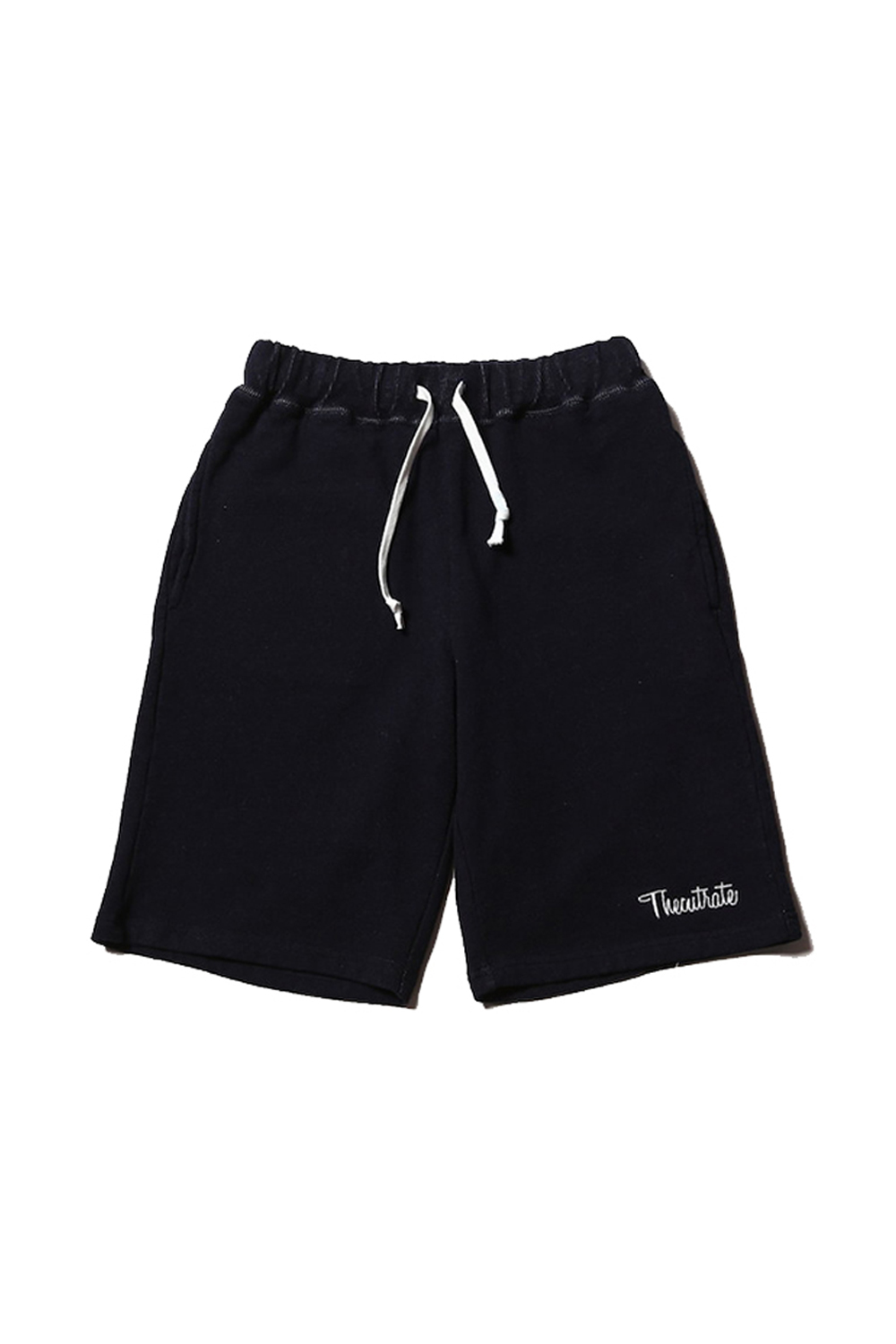 画像1: 【CUTRATE】 INDIGO SWEAT SHORTS (1)