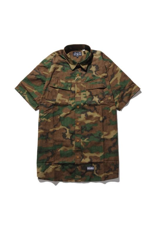 画像1: 【ACAPULCO GOLD】MILITARY S/S FIELD SHIRT