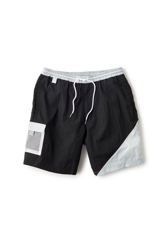 画像1: 【INTERBREED】Wrinkled Nylon Shorts (1)
