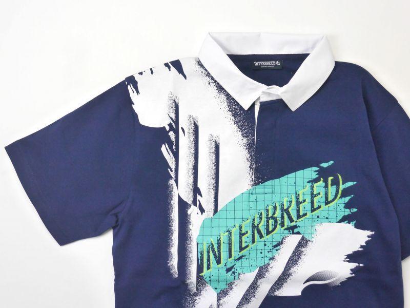 画像4: 【INTERBREED】Smash Shot Game Shirt