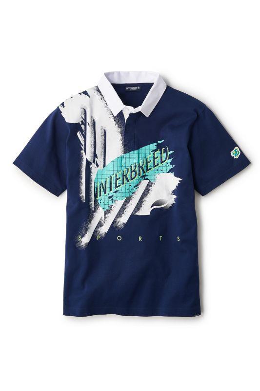 画像1: 【INTERBREED】Smash Shot Game Shirt