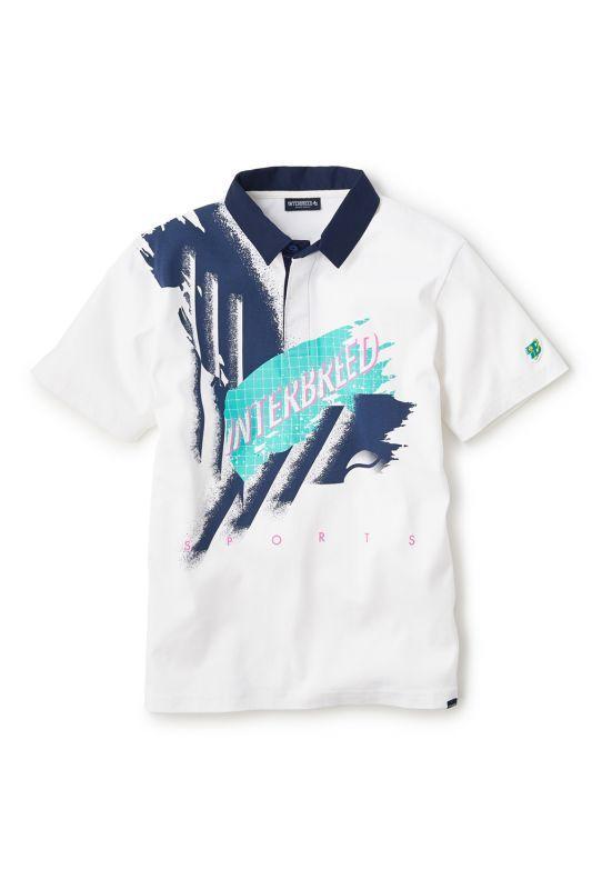 画像2: 【INTERBREED】Smash Shot Game Shirt