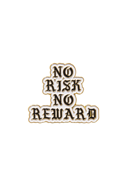 画像1: 【am】NO RISK NO REWARD PIN