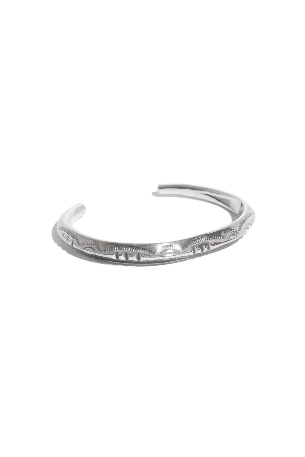 画像1: 【LARRY SMITH】 THIN TRIANGLE BANGLE -3POINT- (LADY'S)