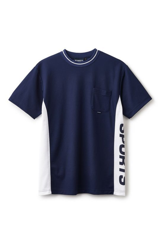 画像1: 【INTERBREED】IB Sports Divided SS Tee