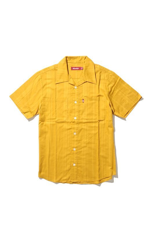 画像1: 【HIDEANDSEEK】Open Collar S/S Shirts (1)