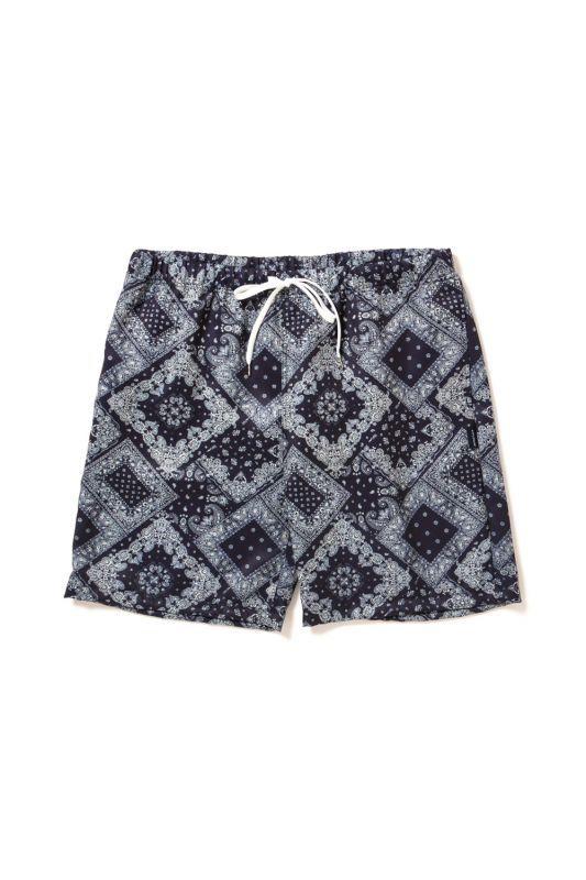 画像1: 【APPLEBUM】Paisley Swim Pants