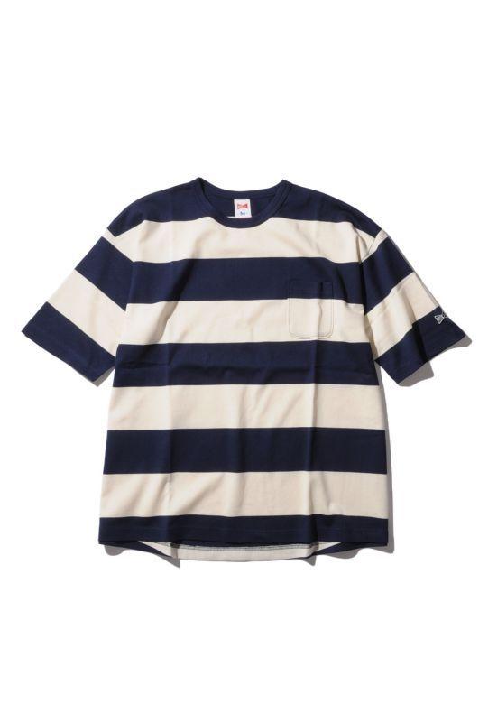 画像1: 【VOTE MAKE NEW CLOTHES】 STANDARD MARINE BIG TEE (1)