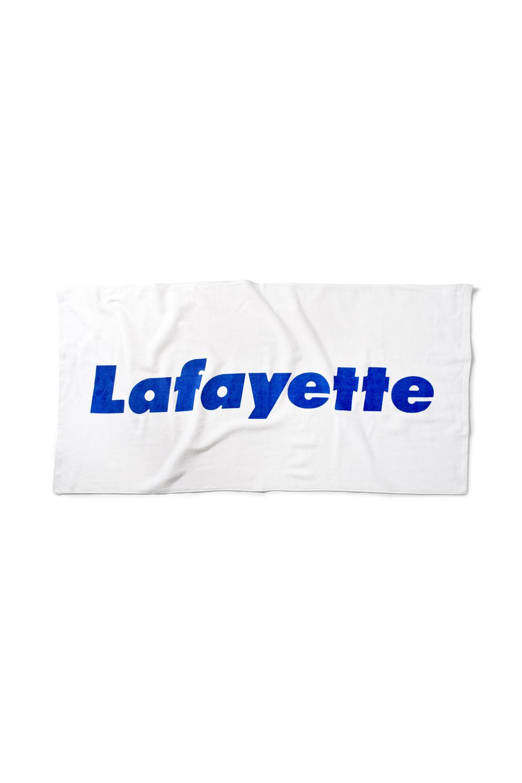 画像1: 【LAFAYETTE】LOGO BEACH TOWEL